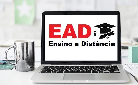 Imagem com EAD no Notebook